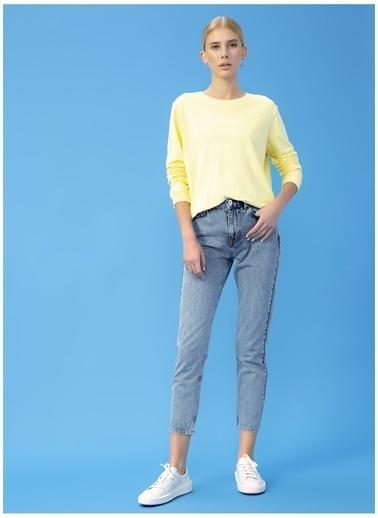 Derin Mermerci X Boyner Sweatshirt Sarı